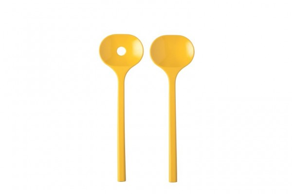Salatbesteck Bloom 2-teilig Mepal - Pebble Yellow